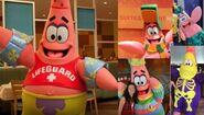 Patrick costume collage