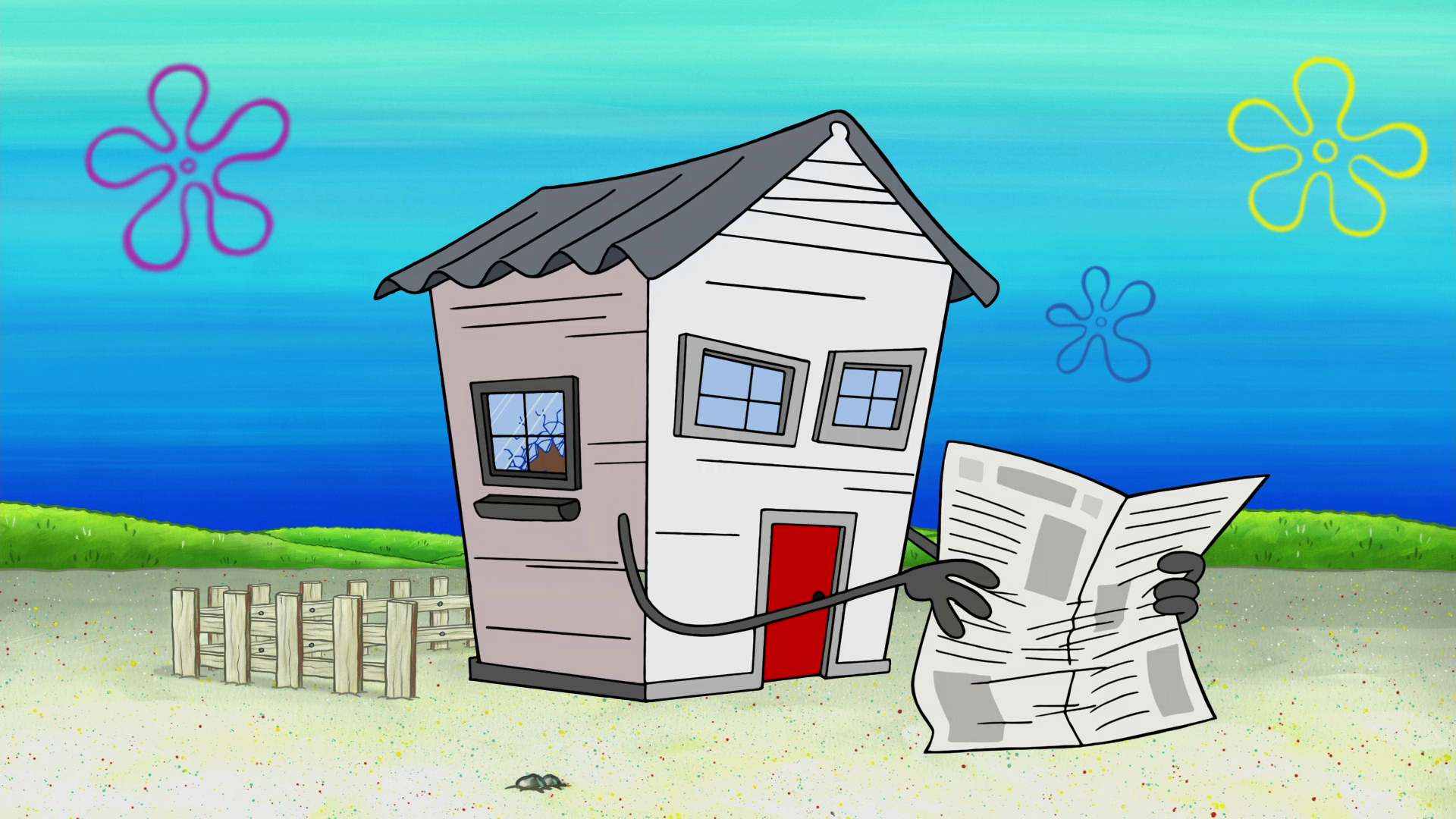 Old Man Jenkins' house