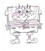 SpongeChad sketched