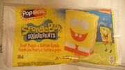 SpongeBob fruit punch and cotton candy popsicle