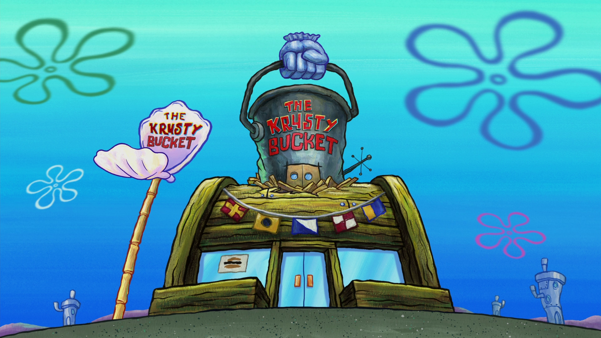 The Krusty Bucket (location)