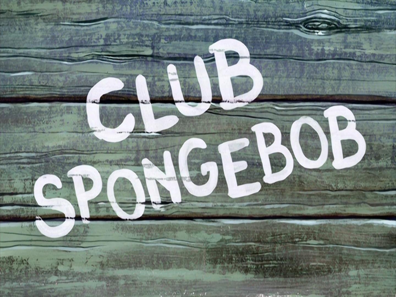 Club SpongeBob/transcript
