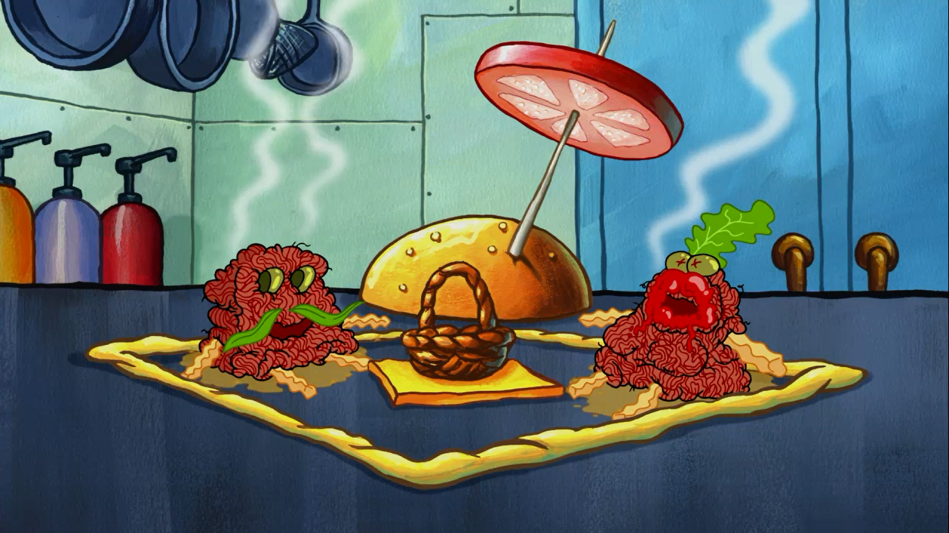 Krabby Patty workers