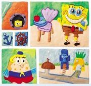SpongeBob-Mrs-Puff-school-clay-style