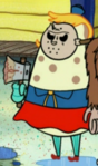 Mrs. Puff as Jason
