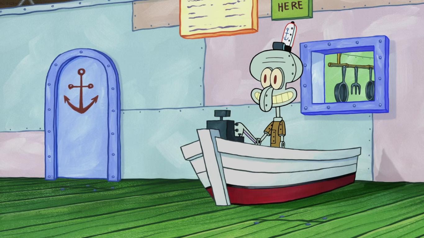 Robot Squidward