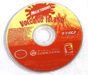 Battle for Volcano Island GC disc