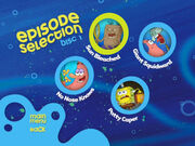 Disc 1 episode selection menu 3