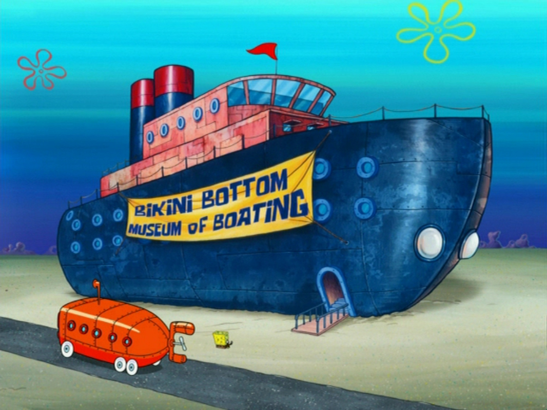 Bikini Bottom Museum of Boating