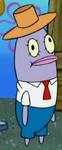 Plankton in a Fish Costume