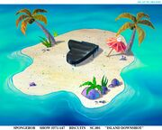 Dying for Pie island art