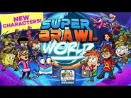 Super Brawl World - Here Comes A New Challenger- Bunsen & Mikey (Nickelodeon Games)