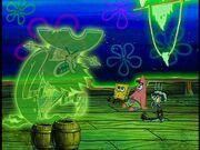 The Flying Dutchman, Spongebob, Patrick, & Squidward Burnt.jpg