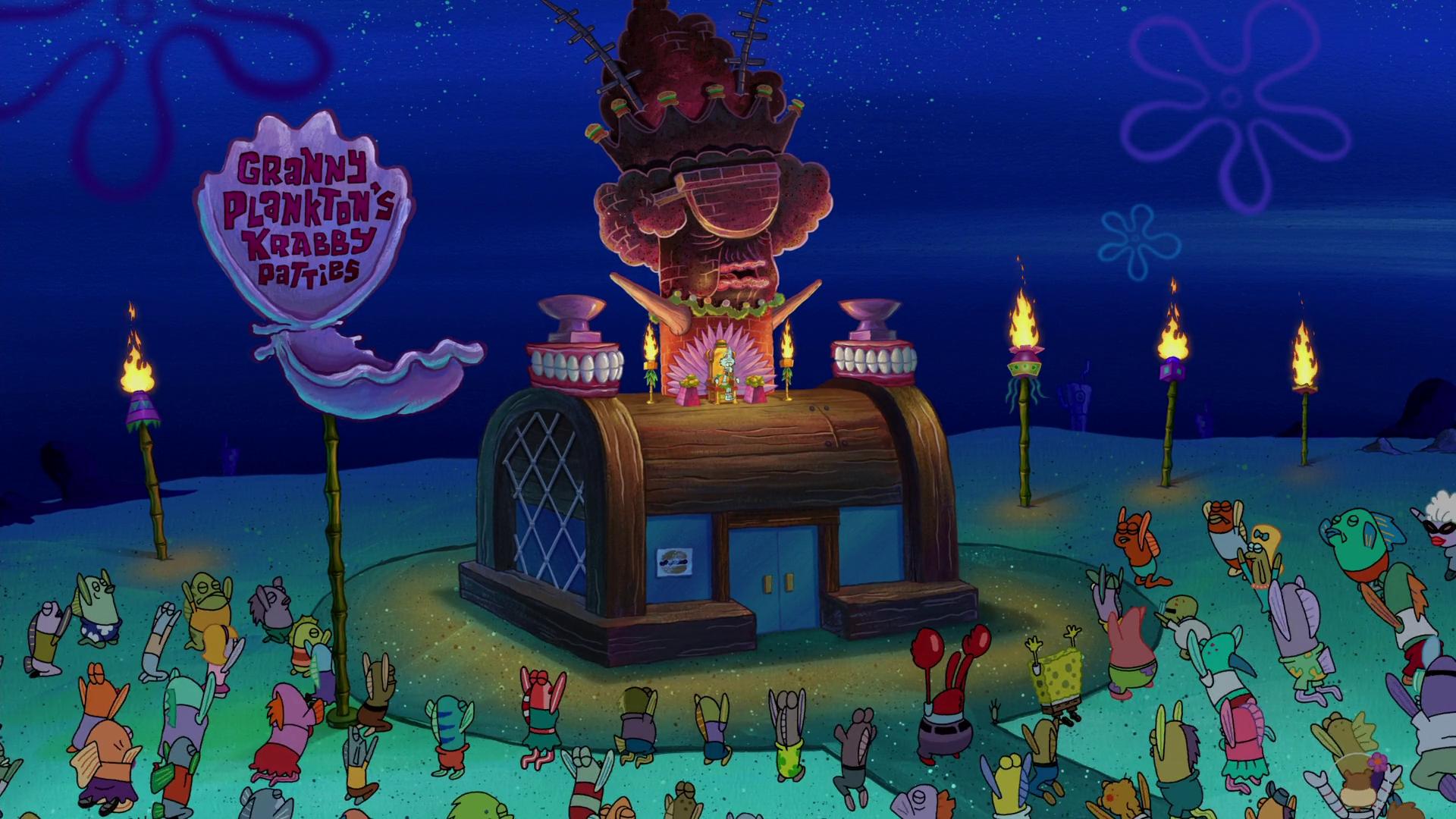 Granny Plankton's Krabby Patties
