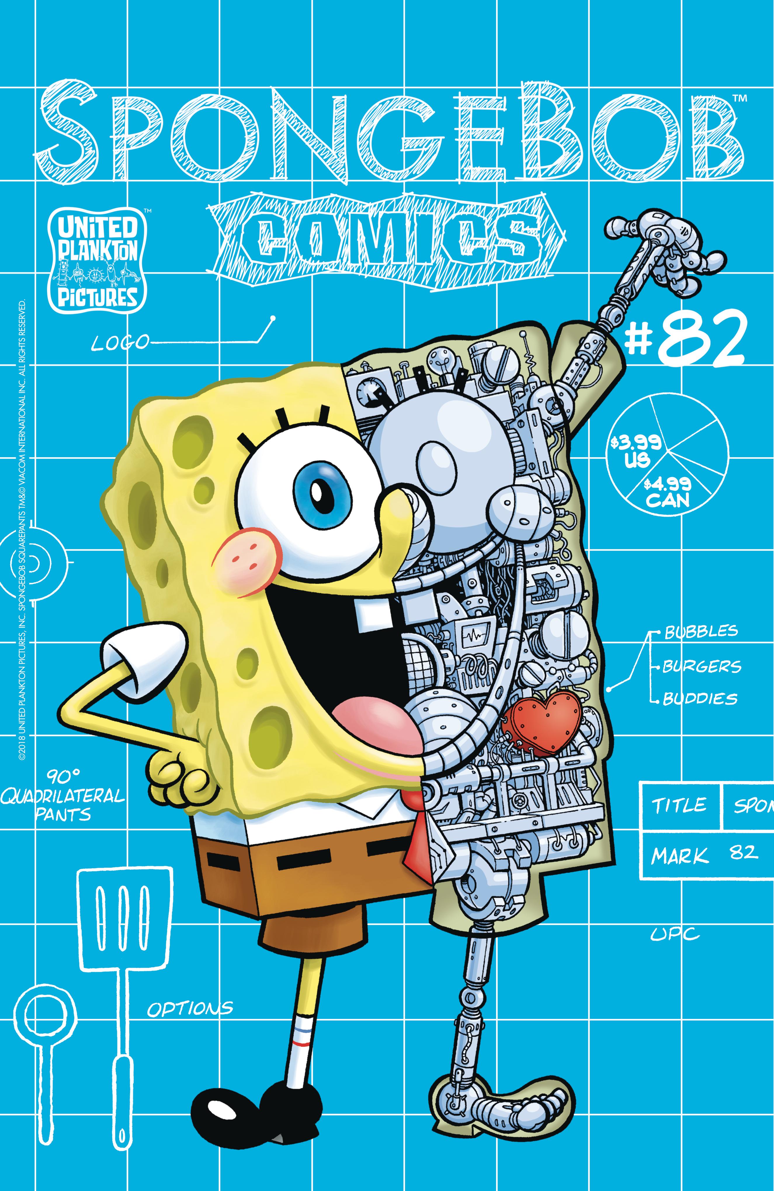SpongeBob Comics No. 82