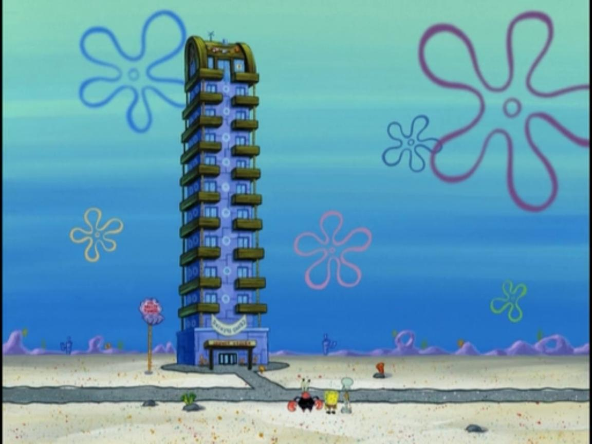 Krusty Towers (building)