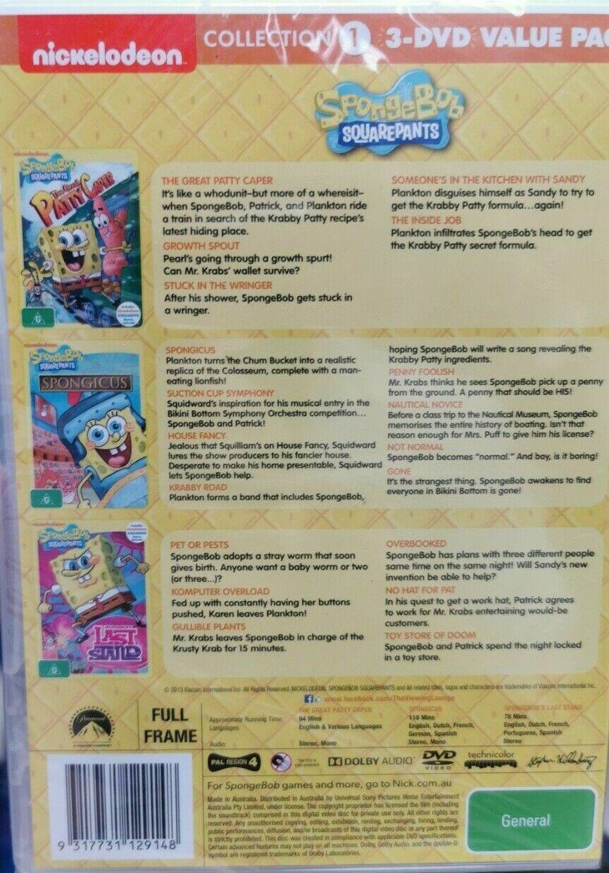 3 DVD Value Pack Volume 2
