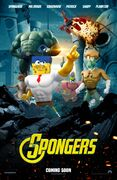 The SpongeBob Movie - Sponge Out of Water The Avengers poster