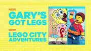 SpongeBob SquarePants 'Gary's Got Legs' Promo ( Lego City Adventures) HD