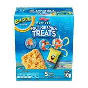 Kellogg's rice krispies treats bob esponja