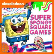 Super Spongy Square Games Digital cover