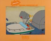 SpongeBob SquarePants Pearl Krabs Production Image Animation Cel Scene Nickelodeon