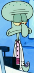 Squidward Wearing Fancy Clothes5