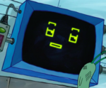 SpongeBob SquarePants Karen the Computer Face-5