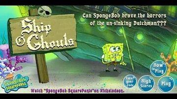 SpongeBob_SquarePants_Ship_O_Ghouls_Games_For_Kids_-_Gry_Dla_Dzieci