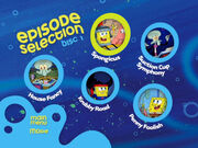 Disc 1 episode selection menu 1