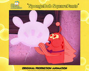 RARE-RED-FISH-Spongebob-Production-CEL
