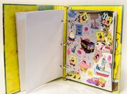 SpongeBob-shiny-sticker-book