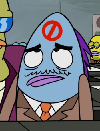 Businessman (blue)