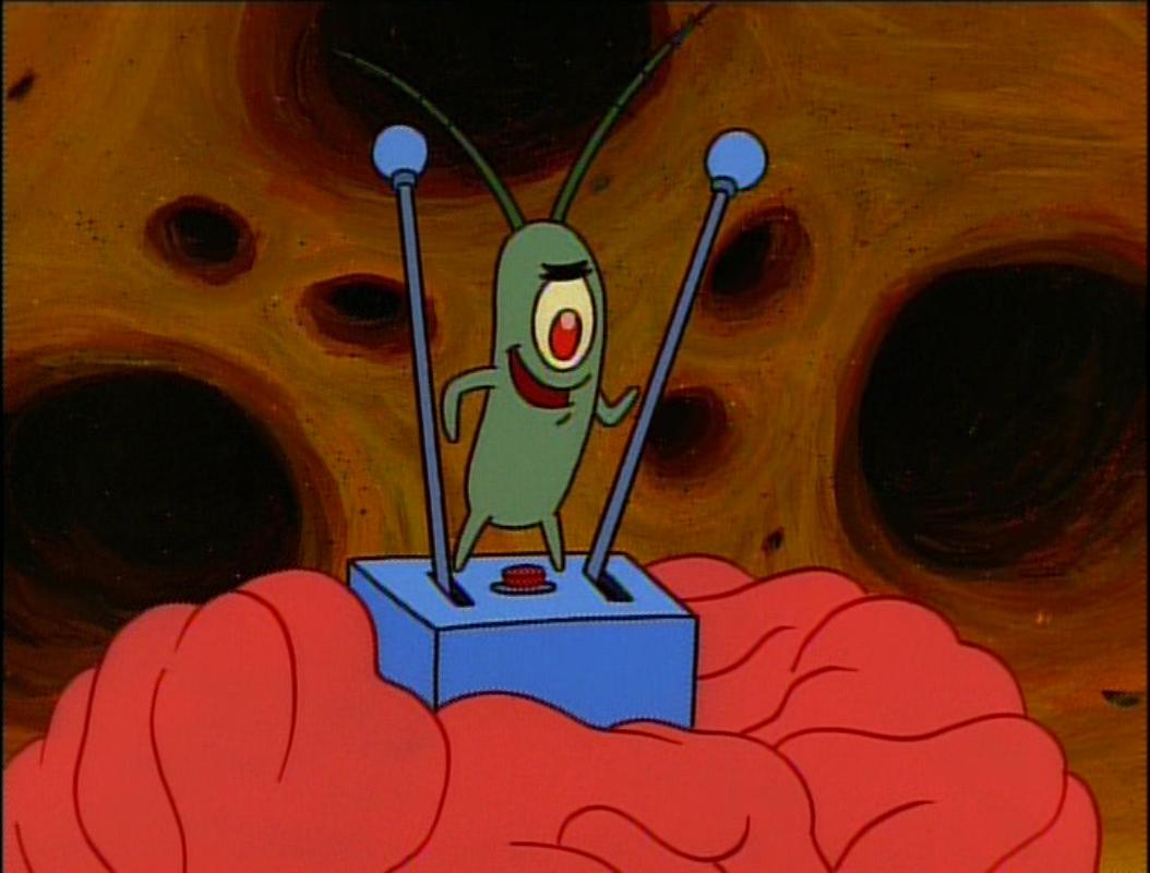Plankton's mind control device