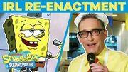 SpongeBob Cast Remake BEST Scenes EVER In REAL Life - 🤪 Happy Birthday SpongeBob TBT