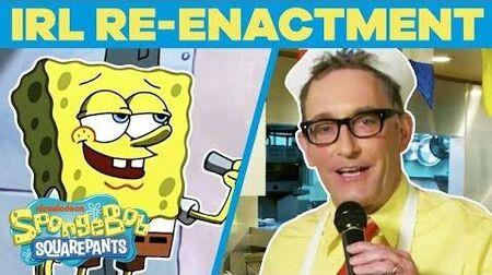 SpongeBob_Cast_Remake_BEST_Scenes_EVER_In_REAL_Life_-_🤪_Happy_Birthday_SpongeBob_TBT