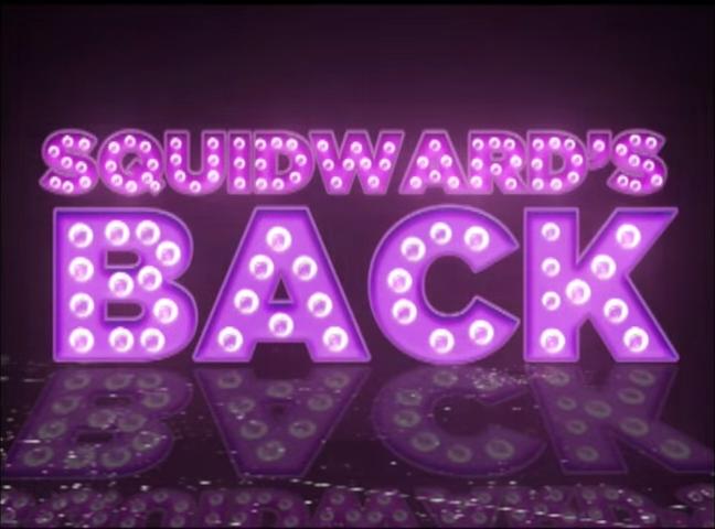 Squidward's Back