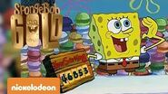 Spongebob Gold Hamburger colorati Nickelodeon