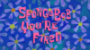 SpongeBob You're Fired title card.png