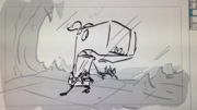 Mimic-Madness-rough-storyboard-Pearl