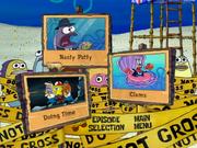 SpongeGuard on Duty DVD Region 1 episode selection screen 3