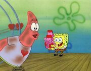 VALENTINES-DAY-SpongeBob-SquarePants-Production-Cel-of
