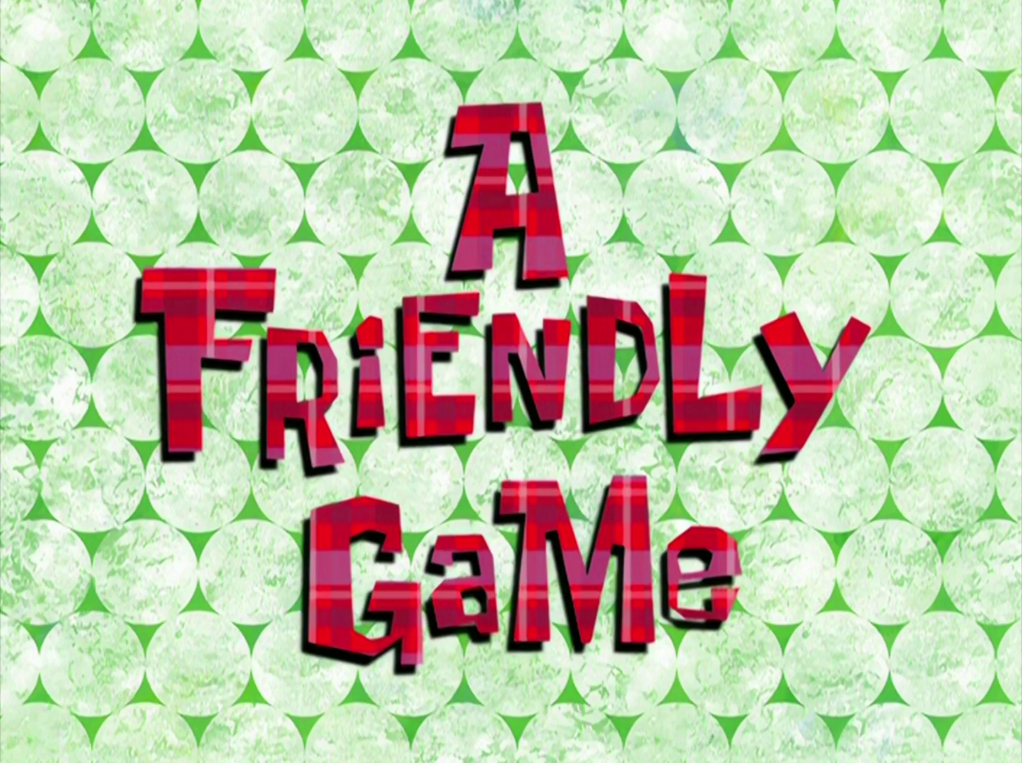 A Friendly Game/gallery