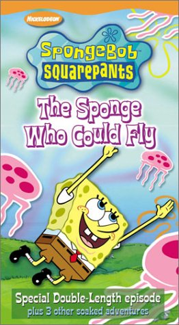 The Sponge Who Could Fly (VHS)