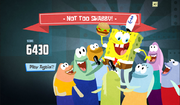 SpongeBob, You're Fired! (online game) - Not too Shabby!