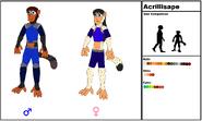 Acrillisape Species