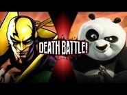 Iron Fist VS Po (Marvel VS Kung Fu Panda) - DEATH BATTLE!