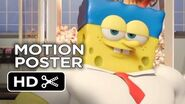 The SpongeBob Movie Sponge Out of Water Motion Poster (2015) - Animated Movie HD