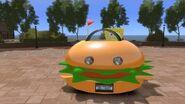 Grand Theft Auto IV - SpongeBob SquarePants Krabby Patty Car (Patty Wagon Mod) HD