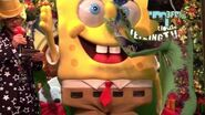 Veiling TV met Spongebob en een vliegende Afro